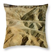 Death Valley Waves Throw Pillow