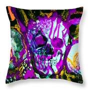 Deathstudy-1 Throw Pillow