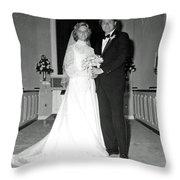 Deb And John Throw Pillow