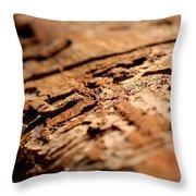 Debarked Tree Throw Pillow