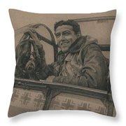 Debden Eagle Throw Pillow