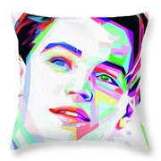 Decaprio By Nixo Throw Pillow