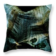 Decaying Flower Throw Pillow