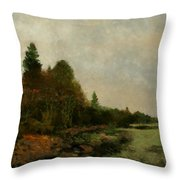 December Dawn Throw Pillow