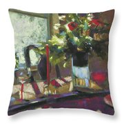 December Morning Light Throw Pillow