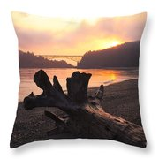 Deception Dawn Throw Pillow