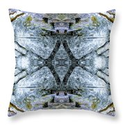Deciduous Dimensions Throw Pillow