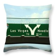 Decisions We Must Made Throw Pillow