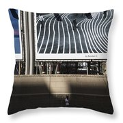 Decisive Moment Throw Pillow by Joanna Madloch