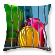 Deck Party Throw Pillow