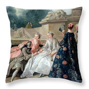 Declaration Of Love Throw Pillow