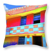 Deco Apt Throw Pillow