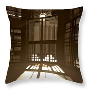 Deco Entrance Throw Pillow
