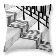 Deco Shadow Throw Pillow