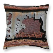 Decomposing Deering Throw Pillow
