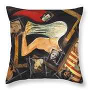 deconstructing Dorian Gray Throw Pillow