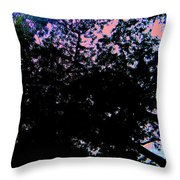 Decorated Sky Throw Pillow