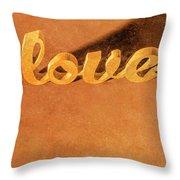 Decorating Love Throw Pillow