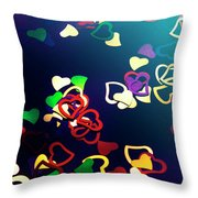 Decorations In Romance Throw Pillow