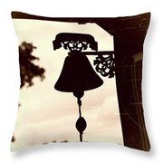 Decorative Bell Throw Pillow