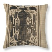 Decorative Design, Carel Adolph Lion Cachet, 1874 - 1945 Throw Pillow