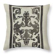 Decorative Design, Carel Adolph Lion Cachet, 1874 - 1945 Jd Throw Pillow
