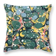 Decorative Endpaper Throw Pillow