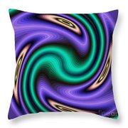 Decorative Fractal Tile 12 Throw Pillow
