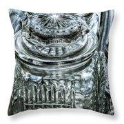 Decorative Glass Jars Throw Pillow