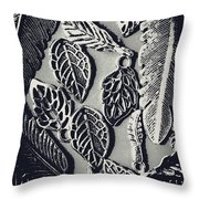 Decorative Nature Design  Throw Pillow