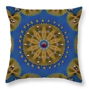 Decorative Pasta Collage Throw Pillow