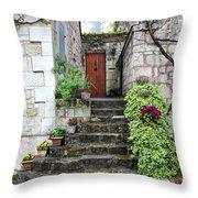Decorative Stairway Throw Pillow