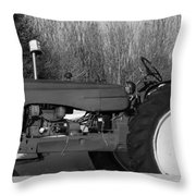 Decorative Tractor Throw Pillow