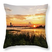 Dectur Bridge Throw Pillow
