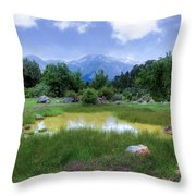 Dedegol Mountain - Turkey Throw Pillow