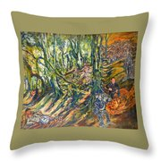 Dedicated To The Memory Of Cecil The Lion Throw Pillow