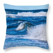 Deep Blue Sea Throw Pillow