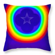Deep Blue See Throw Pillow