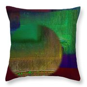 Deep Geometry Throw Pillow