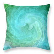 Deep In Serenity Throw Pillow