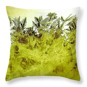 Deep In The Amazon Throw Pillow