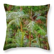 Deep In The Forest, Tamborine Mountain Throw Pillow