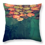 Deep In The Sea Throw Pillow
