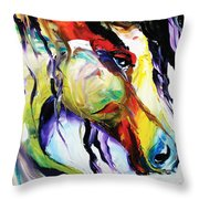 Deep Memories Throw Pillow