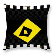 Deep Mirror Deco Throw Pillow