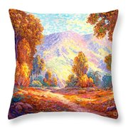 Radiant Peace, Colors Of Fall Throw Pillow