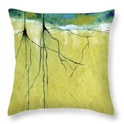 Deep Roots Throw Pillow