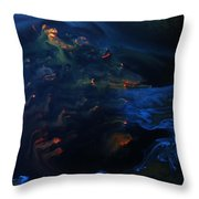 Deep Sea Secret Of The Mystery  Throw Pillow