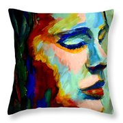 Deep Silence Throw Pillow