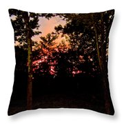 Deep Song, Like A Nightingale In Mourning Throw Pillow